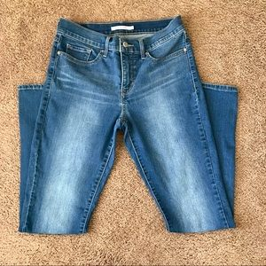 Levi's 311 shaping skinny jean size 28